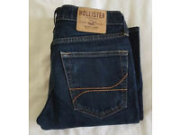 GENUINE HOLLISTER SKINNY JEANS 30X30 NAVY AND GREY