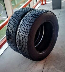 Set of two 245/65/17 Toyo winter tires - 7/32nd tread