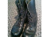 Brand New & Unused Real Leather Army Style Patrol Boots