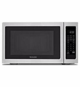 Four à micro-ondes 22'' acier inoxydable [Kitchen Aid]]