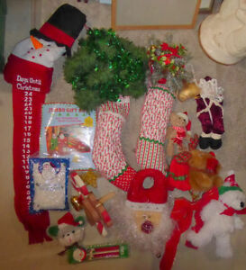 Large lot of misc. Christmas decor items