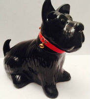 Almost Life-Size Vintage Scottish Terrier Big Cookie Jar(Sold)