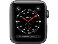 Apple Watch Series 3 (GPS) FACE ONLY, Space Grey Aluminium, 42mm,