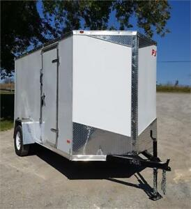 "2018 RC Trailers 6' X 12' Enclosed V Nose 6'6"" Interior Height"