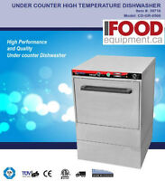 New High Temp Under Counter Commercial Dishwasher