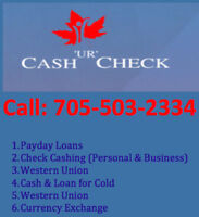 Cash Advance and  EASY Payday Loans in Barrie