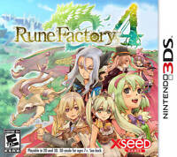 Rune Factory 4 - Nintendo 3DS LIKE NEW