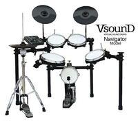 Batterie drum électronique VsounD NAVIGATOR - ALL MESH KIT - USB