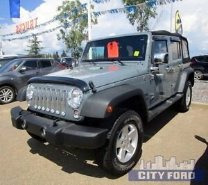 2015 Jeep Wrangler Unlimited 4x4 4dr Sport