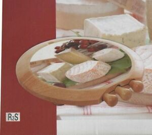 SERVICE A FROMAGE EN BOIS / DELUXE WOODED CHEESE BOARD