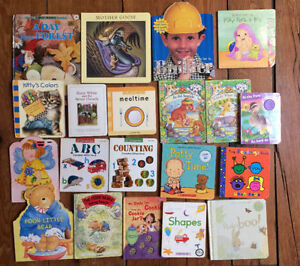 Collection of 20 GREAT BOARD BOOKS $20
