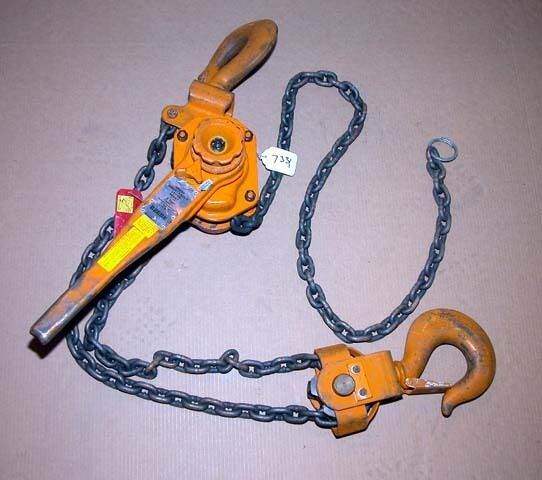 Beebe Roustabout 6 Ton Lever Hoist (Inv.7331)