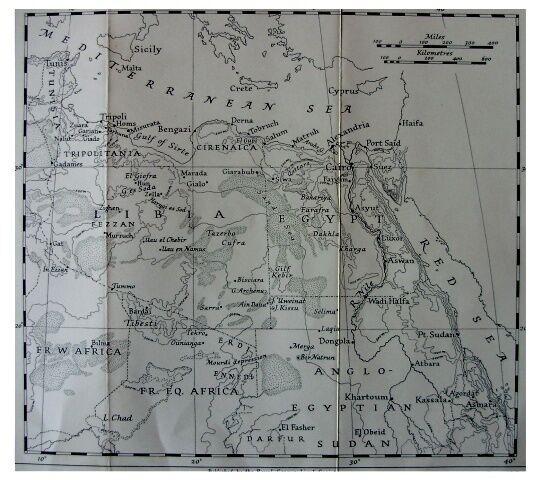 1940 North Africa Campaign -  LIBYAN FRONTIERS - Uweinat - GILF KEBIR - 12