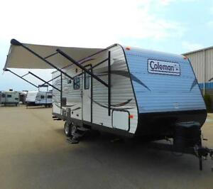 2017 COLEMAN 225 QB GREAT COUPLES TRAVEL TRAILER