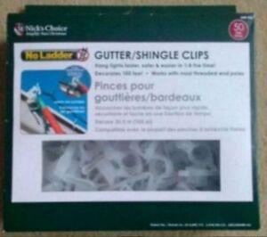 BRAND NEW - Nick's Choice Gutter Shingle Clips!
