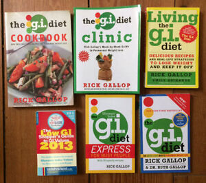 G.I. DIET books collection 6 for $15