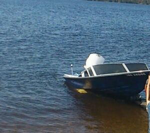 Motor Johnson 1966 reduced price + free boat