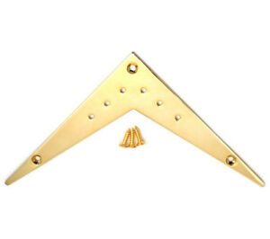 Gold Small 6-string Vee Flying V Style Electric Guitar Tailpiece FVT-SM-G