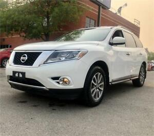2014 Nissan Pathfinder SL $149 bi-weekly, NAV, b/cam,Roof,loaded
