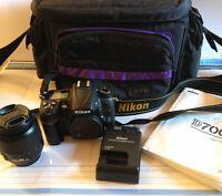 Nikon D7000 Camera Kit with lens and bag