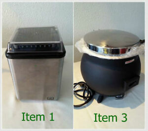 Commercial Kitchen Items  ALL NEW . . . TAKING ANY OFFERS!