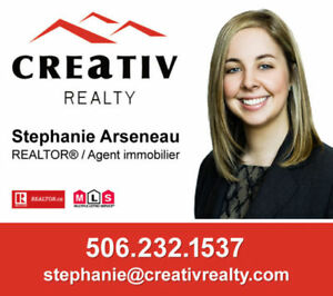 REALTOR - BILINGUAL - GREATER MONCTON AREA