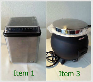 Commercial Kitchen EQUIPMENT . . .TAKING OFFERS NEW