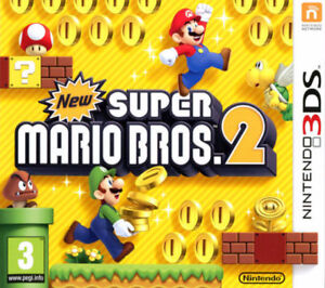 jeu 3ds super Mario bros 2