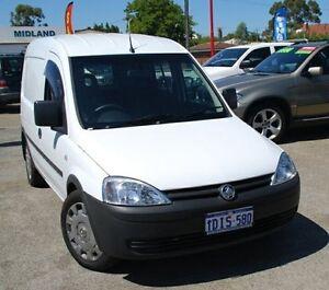 2010 Holden Combo XC MY10 White 5 Speed Manual Van Bellevue Swan Area Preview
