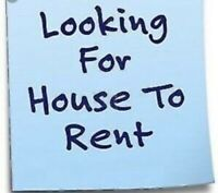 A House in Need of GREAT Tenants!