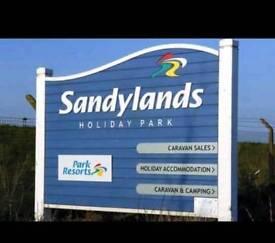 SANDYLANDS HOLIDAY PARK, SALTCOATS - 3 BEDROOM CARAVAN TO LET