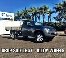 2008 Mitsubishi Triton ML MY08 GL Grey 5 Speed Manual Cab Chassis Buderim Maroochydore Area Preview