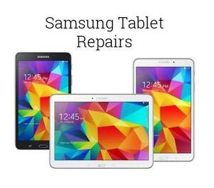SAMSUNG GALAXY TABLET TAB 3, TAB 4, TAB A, TAB E CRACKED SCREEN