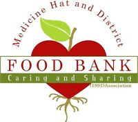 Medicine Hat and District Food Bank Needs Volunteers