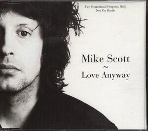 MIKE SCOTT Waterboys UK 1997 PR0MO CD Single LOVE ANYWAY            NEW