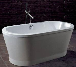 Bain autoportant acrylique round 67 freestanding tub baignoire