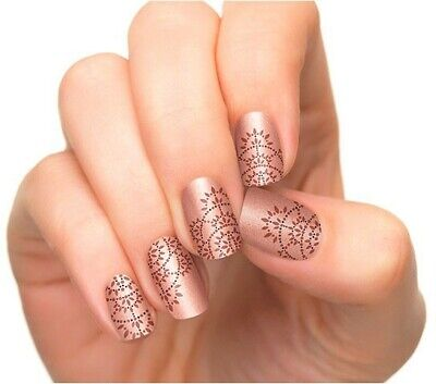 INCOCO Nail Applique Wraps Strips Made With 100% Real Nail Polish SHE'S ROYALITY