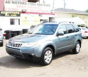 """NO ACCIDENT/NEW WiNTER TIRES""  2013 SUBARU FORESTER AWD AUTO.."