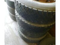 235 x 75 x 17.5 Truck Tyres & Road Wheels x 8 Stud