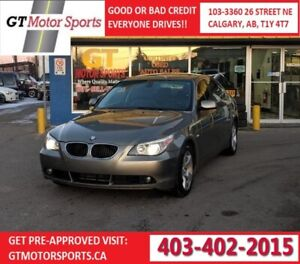 2006 BMW 5 Series 530xi AWD | $0 DOWN - EVERYONE APPROVED!