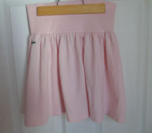 Lacoste Tennis Skirt-Pink-Size Small