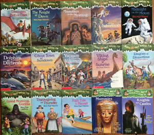 Set of MAGIC TREE HOUSE books! Books 15 for $25