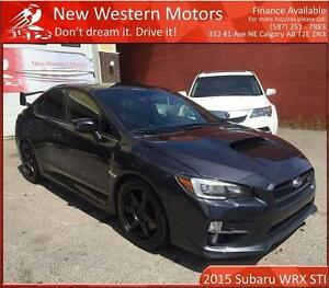 2015 Subaru WRX STi Sport Package BCAM! SUNROOF! LOW KM!