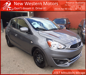 2017 Mitsubishi Mirage ES JUST ARRIVED! LIKE NEW!