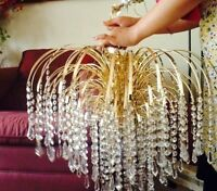 crystal chandelier very good condition