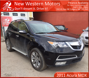 2011 Acura MDX Elite 1 YEAR WARRANTY! BCAM! DVD! NAV!
