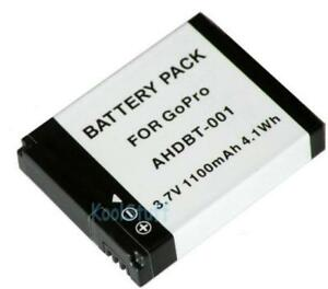 AHDBT-001 1100mAh Battery Pack for GoPro HERO 1 2 Camera GP68