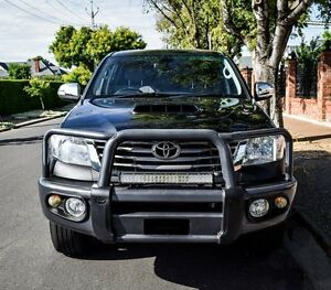 2012 Toyota Hilux KUN26R MY12 SR5 Double Cab Black 5 Speed Manual Utility Medindie Walkerville Area Preview
