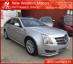 2010 Cadillac CTS 3.0L LOW KM! HEATED LEATHER SEATS! AWD!