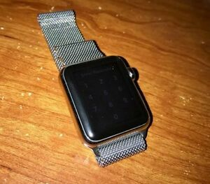 Stainless Steel 38mm Apple Watch